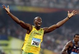Deținătoarea recordului de 100 de milioane, Usain Bolt imagine