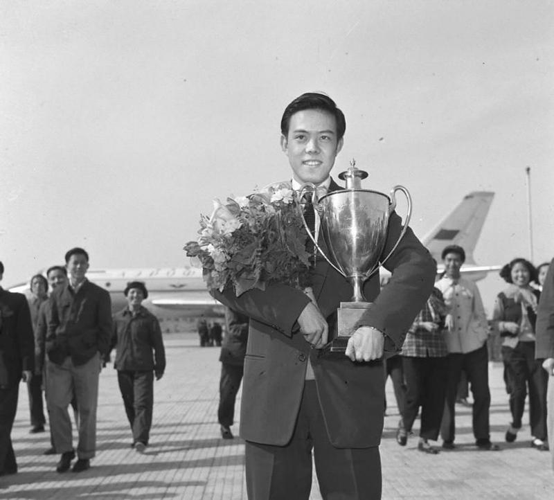 Campionul de tenis de masă Rong Guotuan (Imaginea 1)