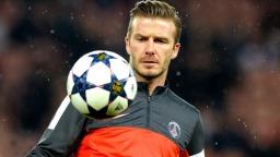 Jucător de fotbal David Beckham imagine