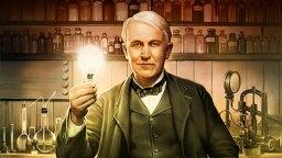 Inventatorul american Thomas Edison imagine