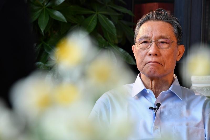 Academicianul Zhong Nanshan (Imaginea 1)